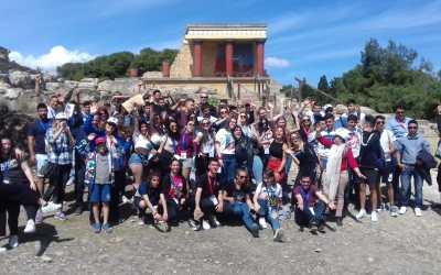Exitoso encuentro transnacional en Iraklio