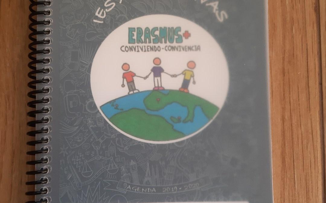 Difusión Erasmus+ lo grande en nuestra agenda escolar