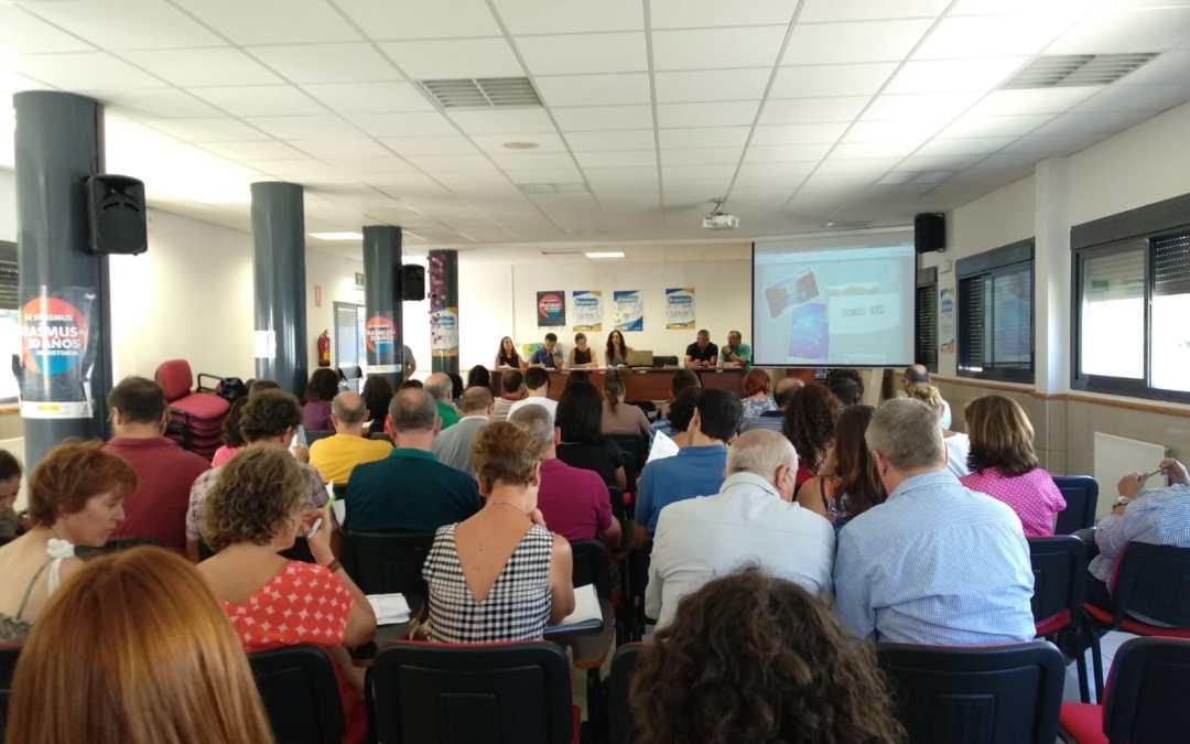 Arranca con el Claustro Escolar la visibilidad Erasmus+