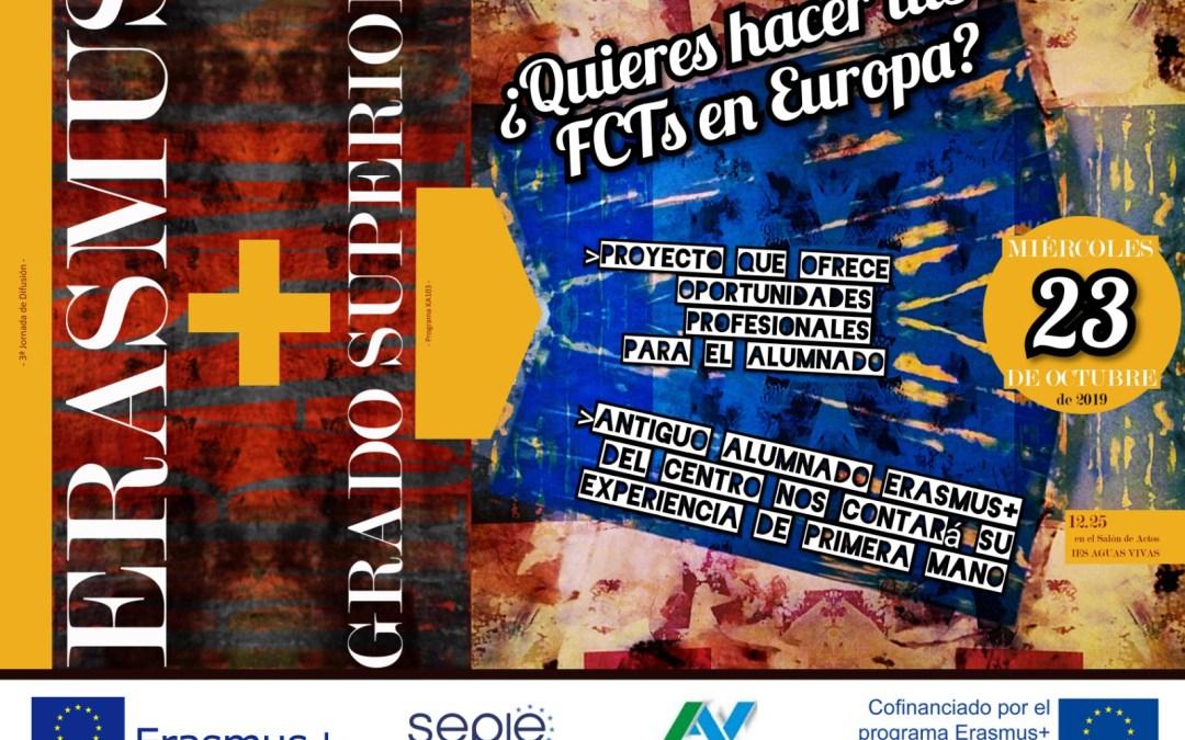 III Jornada de Difusióndel programa Erasmus+ KA103en Aguas Vivas