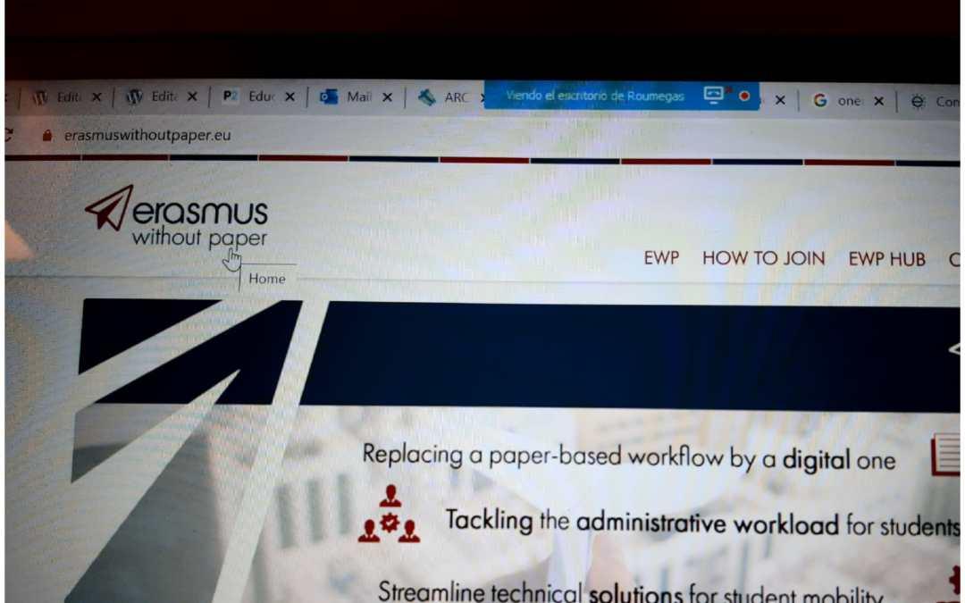 El IES Aguas Vivas participa en las Jornadas Virtuales sobre Digitalización De Erasmus+