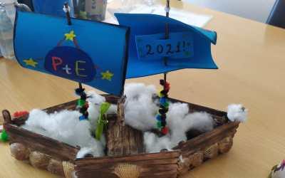 Nos llega un paquete de los socios griegos de Passport to Europe