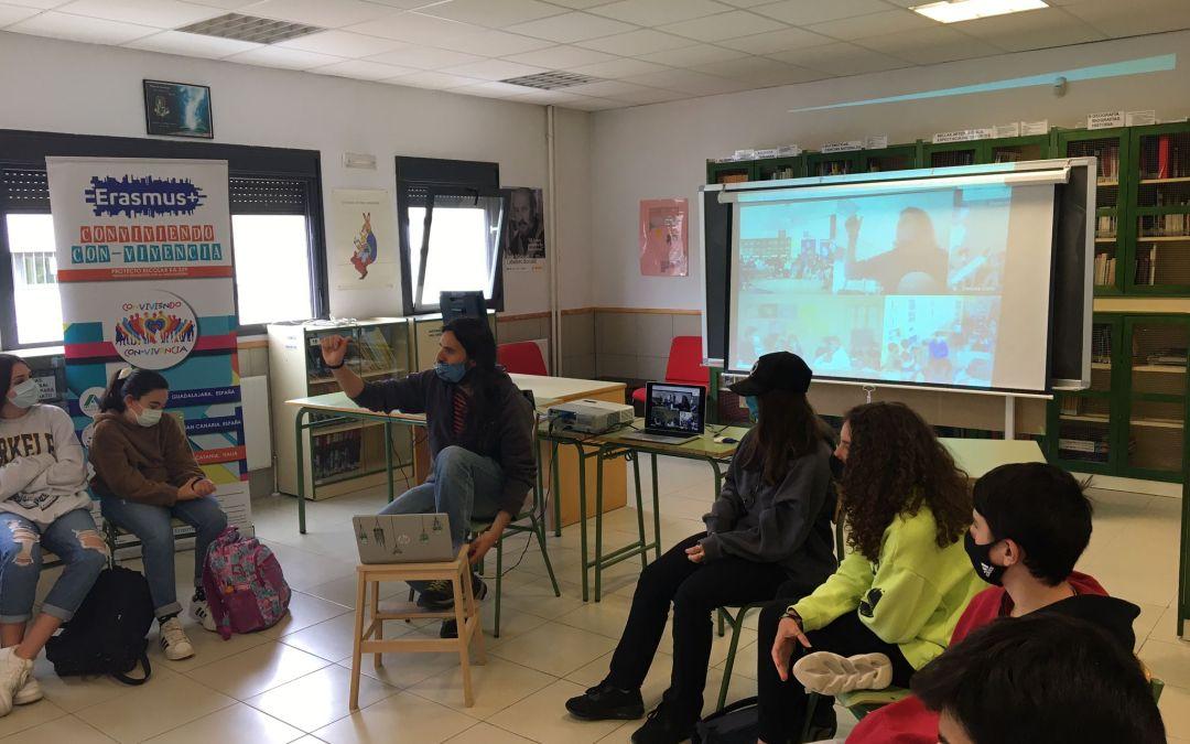 Día 2 del Tercer encuentro transnacional del Proyecto Erasmus Conviviendo Convivencia