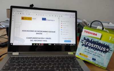 Closing meeting virtual para el cierre del proyecto Erasmus+ KA229 Passport to Europe