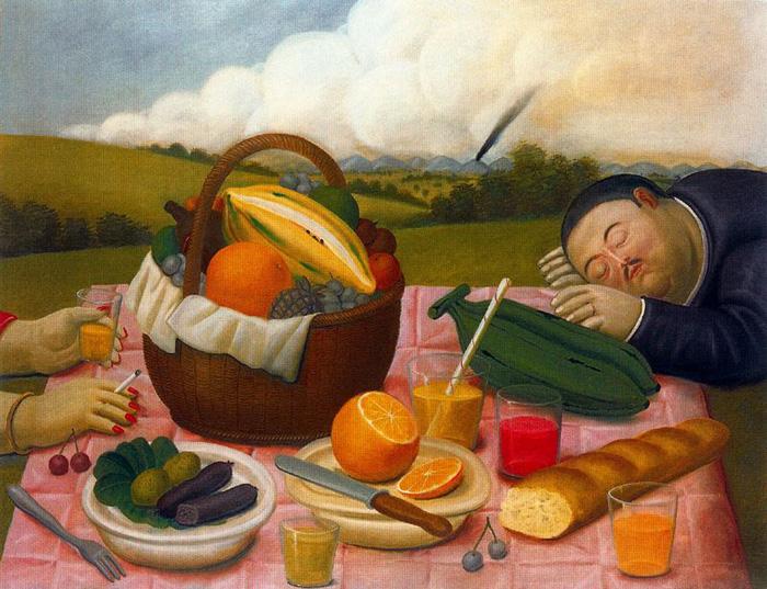 Artistas  Comida Cultura y Pintura