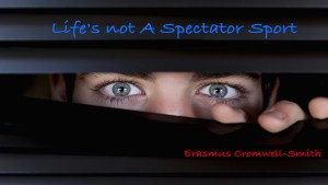 Life Is Not A Spectator's Sport (Life's true success is being happy)