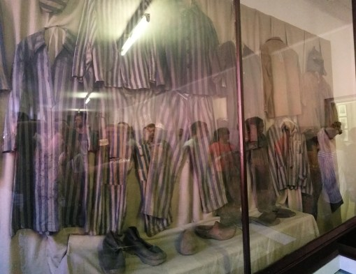 The clothes that jews wore during their detention