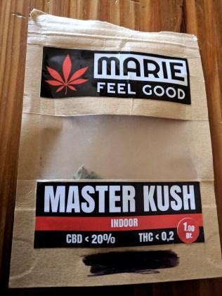 marie feel good master kush