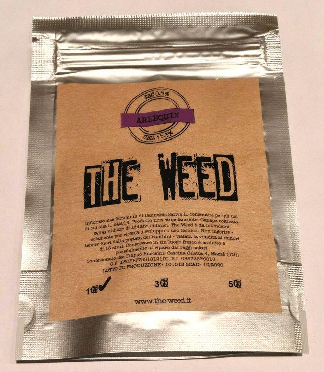 Bustina di Arlequin the weed, canapa light