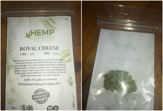 hemp experience cheese