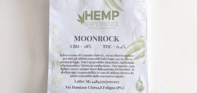 Bustina di plastica moonrock legali