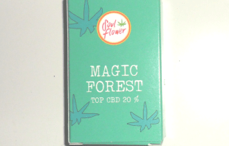 Scatola di cartoncino di canapa legale Magic Forest di Soul Flower