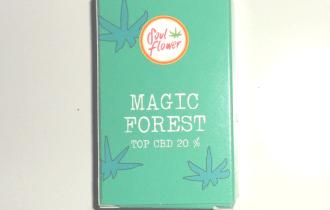 Scatola di cartoncino di canapa legale Magic Forest di Soul Flower