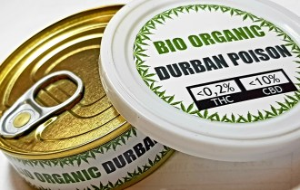 Metal jar durban Poison