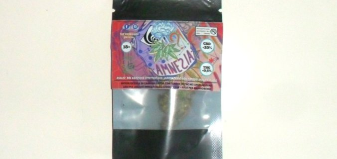 Bustina di cannabis light Amnesia di The Weed Shop Official