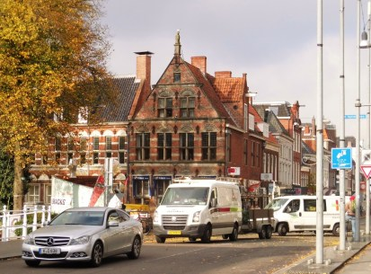 Groningen, Spilsluizen