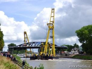20170715 - Plaatsing Tafelbrug Zuidhorn 50