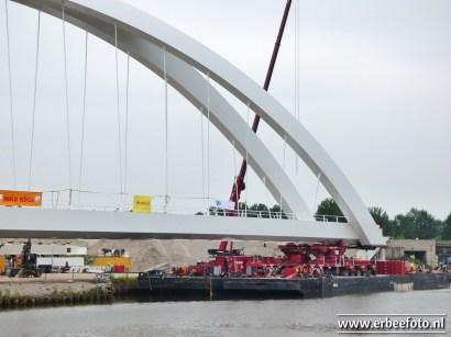 Plaatsing Spoorbrug Zuidhorn 05