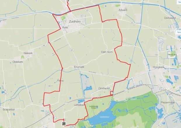 Route Midwolde