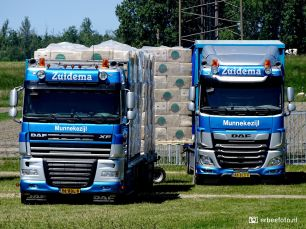 Zuidema Transport Munnekezijl DAF Trucks