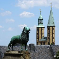 Uitzicht Goslar Kaiserpfalz