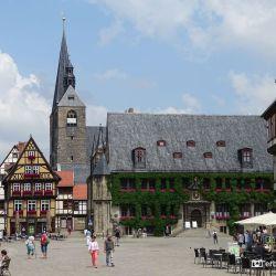 Raadhuis en Marktkerk Quedlinburg