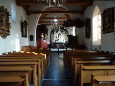 Interieur Kerk Midwolde (Leek Groningen)