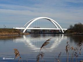 Bert Swartbrug Zuidhorn, reflectie in water