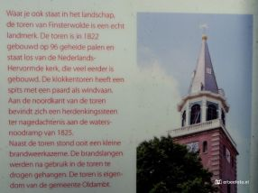 Informatiebord Toren bij de Kerk Finsterwolde