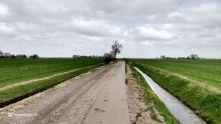fietspad tussen Noordhorn en Oldehove