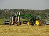 Boeren Kuilgras binnen halen (Den Ham) 03