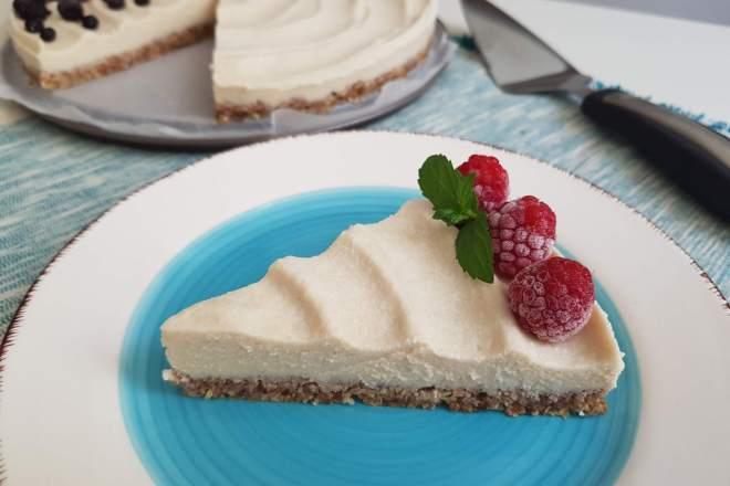 cheesecake cu zmeura