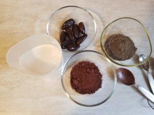 ingrediente mousse de ciocolata