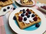 waffles cu faina integrala