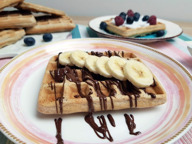 waffle cu ciocolata