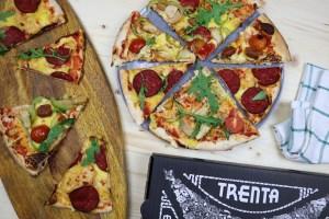 trenta pizza vegana