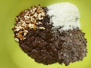 ingrediente brownie vegan