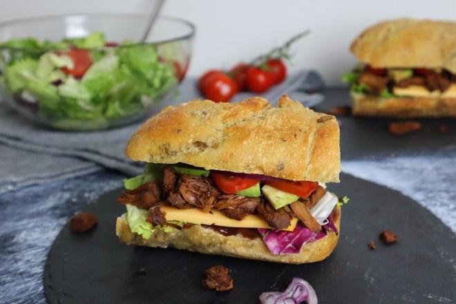 sandwich cu jackfruit