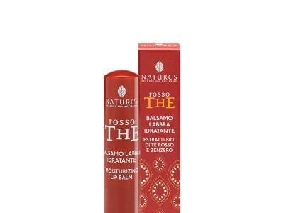 Balsamo Labbra Idratante Rosso The