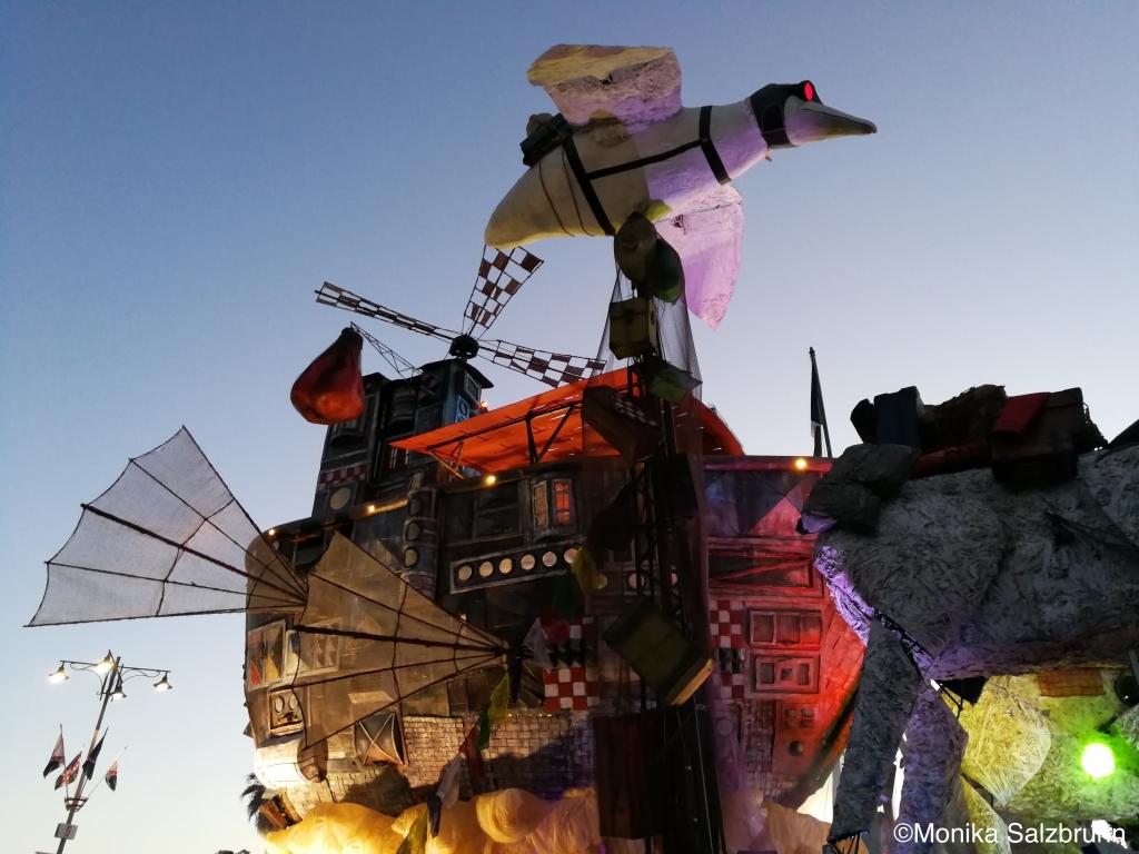 Proxima Ventura, Carnevale di Viareggio 2018