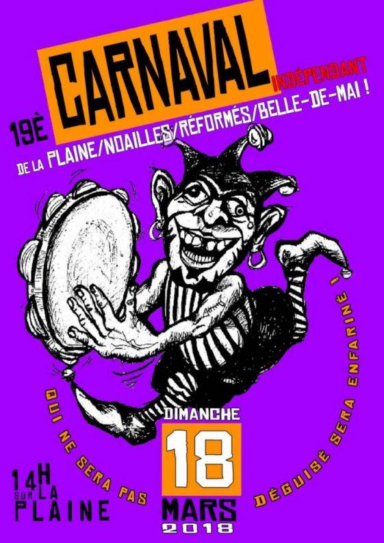 Marseille: Carnaval indépendant de la Plaine/Noailles/Réformés/Belle de Mai