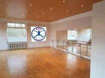 Der Ballett-Raum.