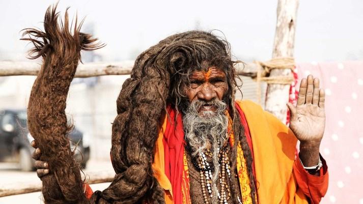 Sadhu in Kumbha Mela Ujjain