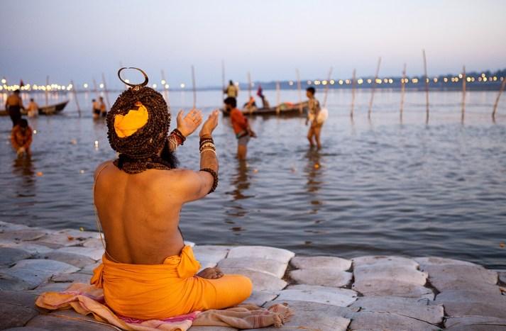 Sadhus at Shipra River