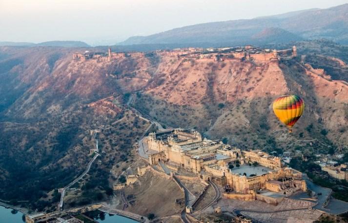 Hot Air Balloon Rides - Rajasthan Pushkar Fair