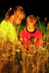 Gyűjtögető gyerekek