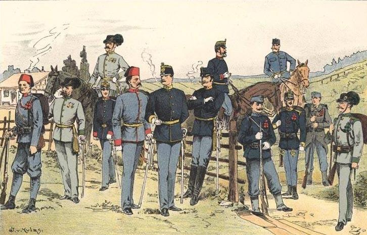 Az osztrák-magyar hadsereg az I. világháborúban