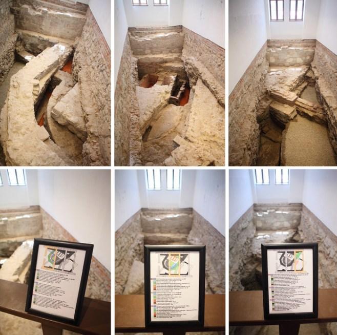 A kisebbik Szűz Máriáról elnevezett egyház (Mihálka Nándor, a Nagyváradi Vár- és Várostörténeti Múzeum régészének felvétele)