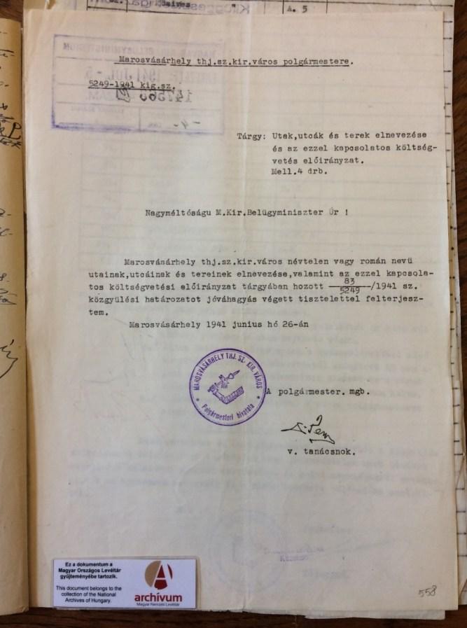 levéltári fotó