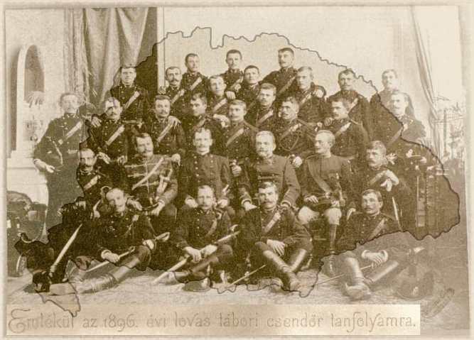 1896_évi_lovas_tábori_csendőr_tanfolyam